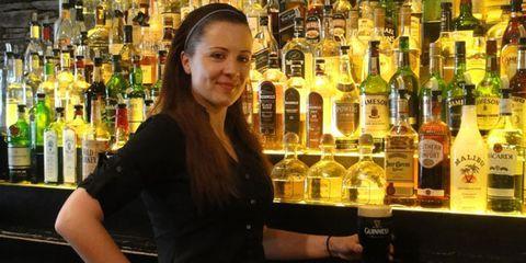 Alcohol, Bottle, Drink, Alcoholic beverage, Barware, Glass bottle, Drinking establishment, Distilled beverage, Pub, Tavern,