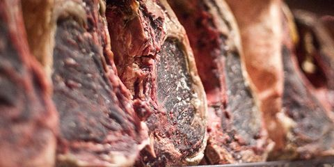 Beef, Food, Ingredient, Pork, Red meat, Cooking, Close-up, Meat, Flesh, Curing,