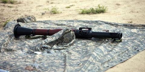 Taliban RPG Gentile