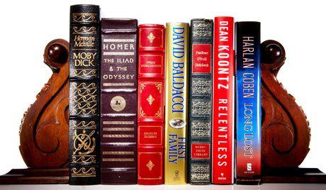 Book Shelf Of Popular Literature