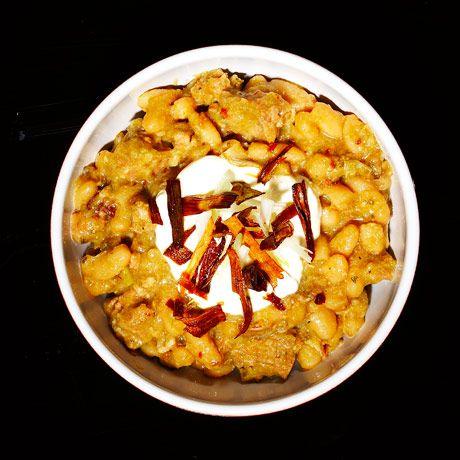 White Bean And Sausage Chili Recipe Chili Cookoff Recipes