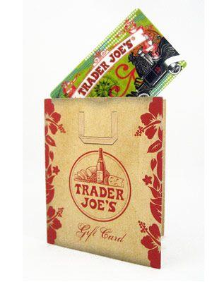 Trader Joe\'s Gift Card - Secret Santa Gift Ideas