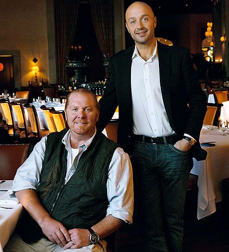Mario Batali And Joe Bastianich Esquire Restaurant Hall Of Fame Interviews