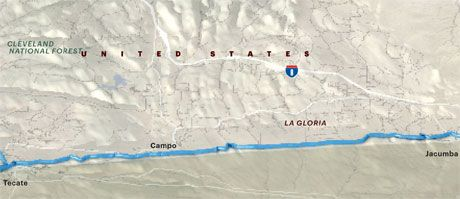 Mexican Border - Walking the Mexico U S  Border