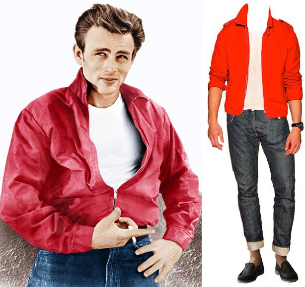What Would James Dean Wear? James Dean Red Jacket for Sale and More