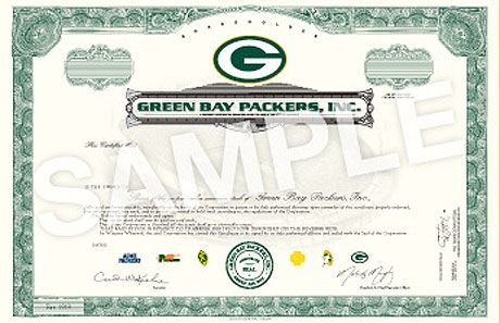 Green Bay Packers Stock Sale 2011 How To Buy Packers Stock 2011