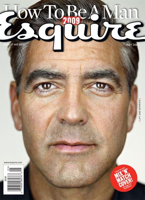 george clooney esquire cover may 2009