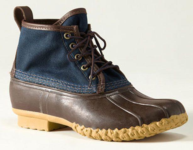 7de4461f154 LL Bean Waxed Canvas Maine Hunting Shoe - L.L. Bean Original Boots