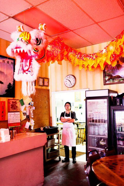 Danny Bowien at Mission Street Chinese Food in San Francisco