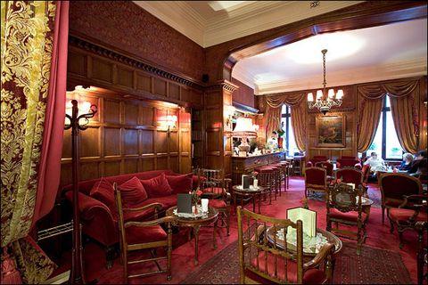 hotel raphael bar anglais
