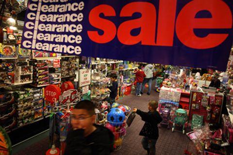 last-minute sale