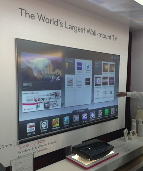 lg laser projector