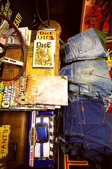 Denim, Pocket, Belt,