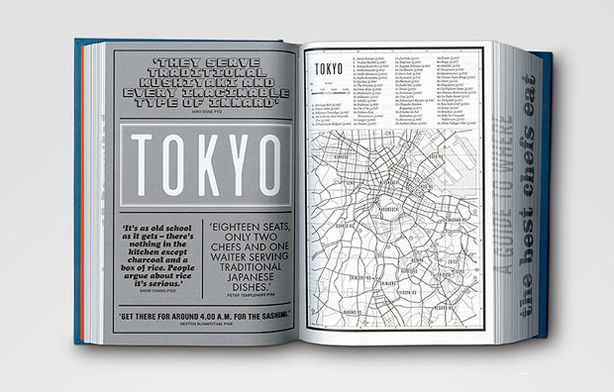 Where Chefs Eat, According to Typography