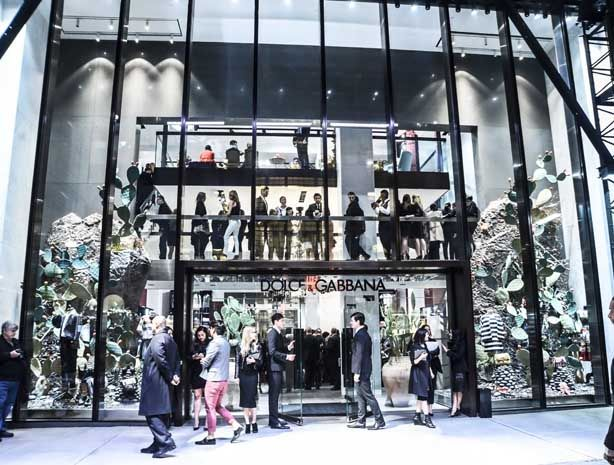 a25d26013d Dolce & Gabbana Opens NYC Flagship Store - Best Stores New York City