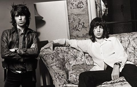Mick Jagger and Keith Richards, <i>Exile on Main St. </i>Shoot