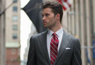 Clothing, Coat, Dress shirt, Collar, Shirt, Suit, Outerwear, Tie, Formal wear, Blazer,