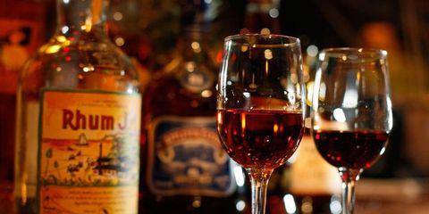 Glass, Drinkware, Alcohol, Barware, Stemware, Drink, Alcoholic beverage, Bottle, Fluid, Wine glass,