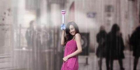 Shoulder, Standing, Pink, Magenta, Purple, Street fashion, Sleeveless shirt, Waist, Violet, Photography,