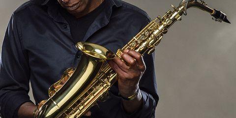 Clothing, Musical instrument, Human, Brass instrument, Woodwind instrument, Wind instrument, Musician, Music, Human body, Musical instrument accessory,