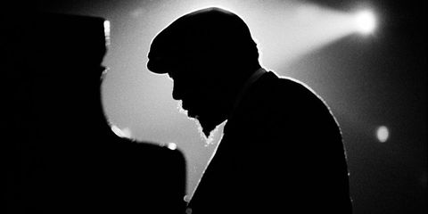 Standing, Darkness, Monochrome, Backlighting, Silhouette, Monochrome photography, Black-and-white, Shadow,