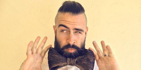 Check out This Man's Badass Beard Sculptures