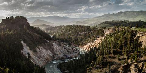 Nature, Mountainous landforms, Highland, Valley, Mountain, Wilderness, Terrain, Hill, Stream, Geological phenomenon,