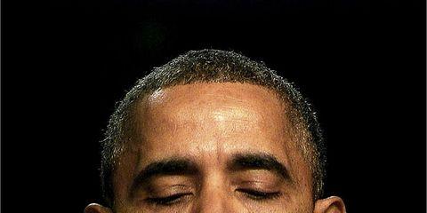 Cheek, Forehead, Eyebrow, Mammal, Temple, Buzz cut, Close-up, Wrinkle,