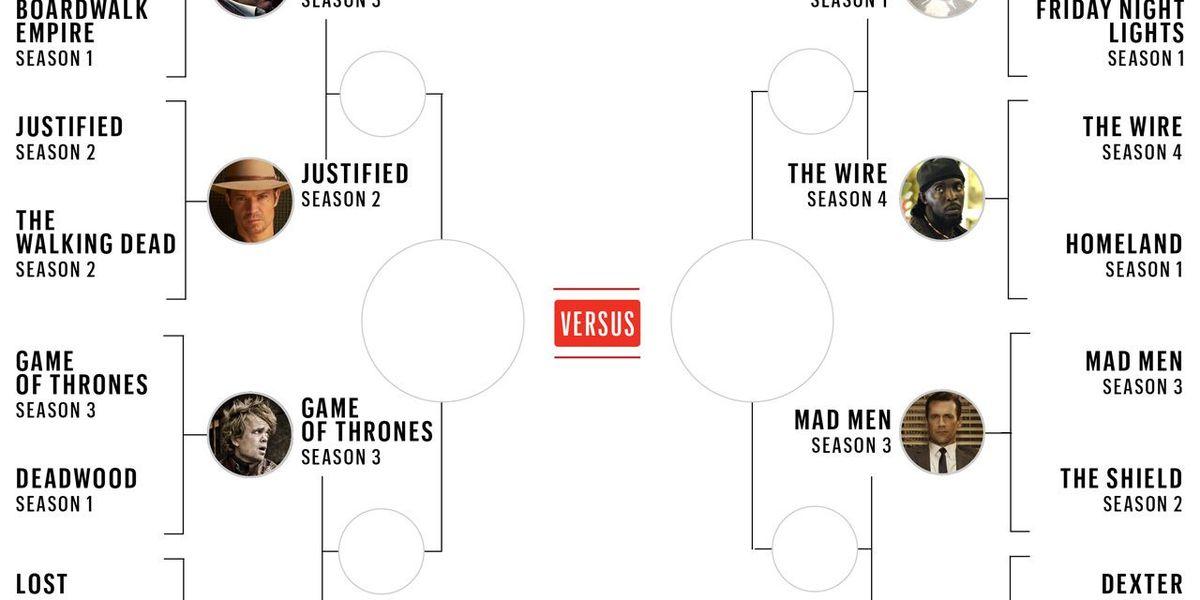 Vote Now The Esquire Tv Seasons Bracket Elite Eight