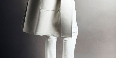 Clothing, Shoe, Textile, Outerwear, White, Style, Fashion, Grey, Monochrome, Street fashion,