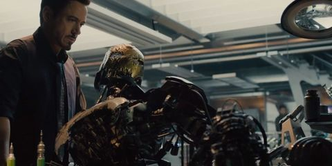Fictional character, Facial hair, Machine, Beard, Action film, Movie, Cable,