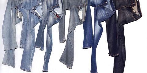 Blue, Denim, Textile, Fashion, Electric blue, Azure, Pocket, Cobalt blue, Fashion design, Costume design,