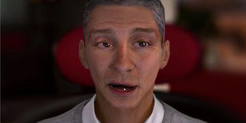 Ear, Lip, Mouth, Cheek, Skin, Chin, Forehead, Eyebrow, Jaw, Organ,