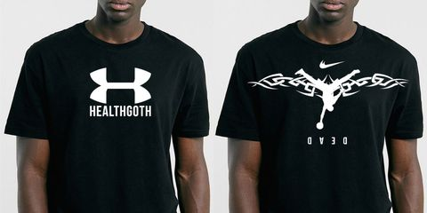Product, Sleeve, Text, Standing, White, T-shirt, Font, Cool, Neck, Logo,
