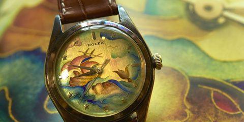 Watch, Analog watch, Glass, Watch accessory, Amber, Teal, Azure, Clock, Aqua, Everyday carry,