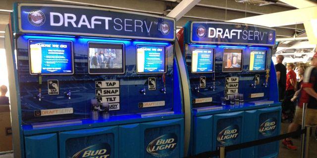 Finally, Vending Machines That Dispense Beer at the Ballgame