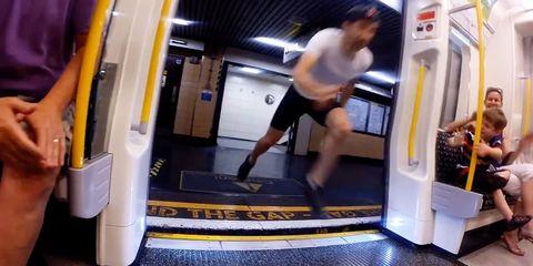 Human leg, Elbow, Floor, Standing, Flooring, Knee, Calf, Thigh, Muscle, Active shorts,