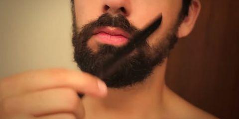 Facial hair, Lip, Cheek, Finger, Hairstyle, Skin, Chin, Forehead, Moustache, Eyebrow,