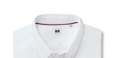 Product, Collar, Sleeve, Dress shirt, White, Button, Beige, Polo shirt, Brand, Fashion design,