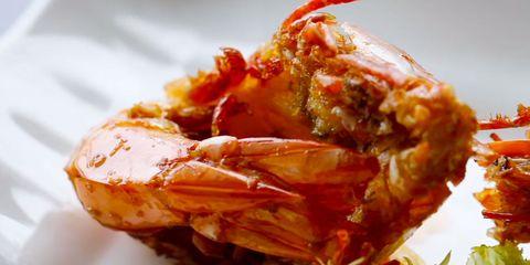 Food, Ingredient, Amber, Orange, Recipe, Seafood, Arthropod, Dish, Delicacy, Macro photography,