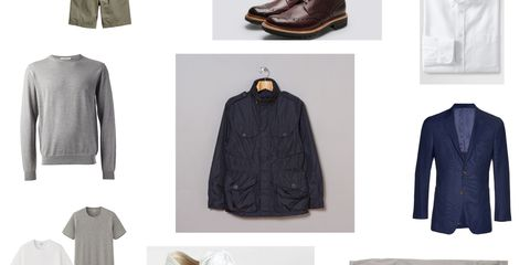 Esquire's Ten Item Wardrobe