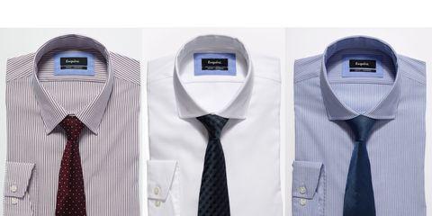 Product, Dress shirt, Collar, Sleeve, White, Purple, Lavender, Pattern, Tie, Violet,