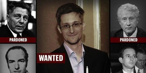 snowden wanted