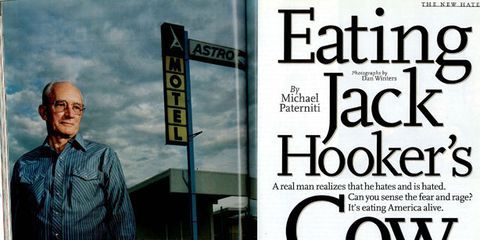 Eating Jack Hooker's Cow - Michael Paterniti Esquire Eating
