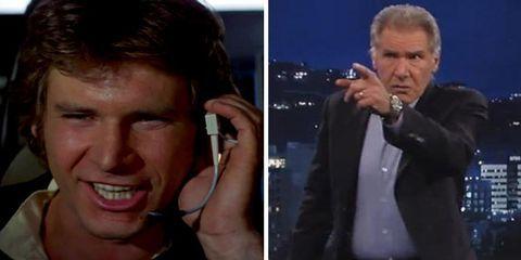 Harrison Ford: A Grumpy Timeline