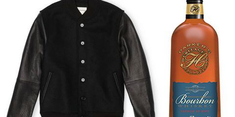 Wear This, Drink That: Club Monaco Varsity Jacket & Parker's Heritage Collection Bourbon