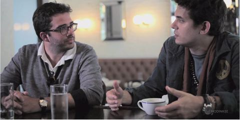 Video: Talking Watches with John Mayer