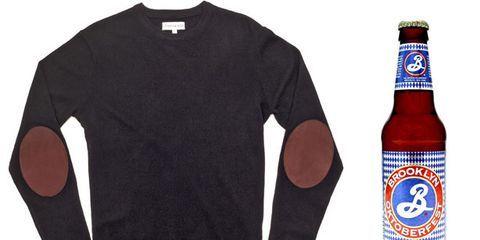 Wear This, Drink That: Ovadia & Sons Crewneck Sweater and Brooklyn Oktoberfest