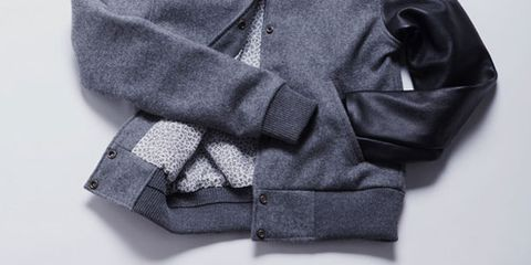 Product, Collar, Sleeve, Textile, Outerwear, Pattern, Fashion, Sweater, Fashion design, Button,