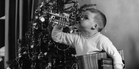 Musician, Music, Musical instrument, Christmas decoration, Musical instrument accessory, Holiday, Christmas ornament, Monochrome, Christmas, Folk instrument,